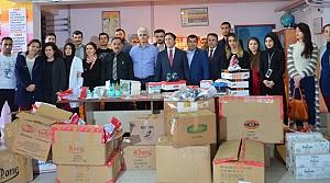İstanbul'dan Yakakentli Öğrencilere Yardım