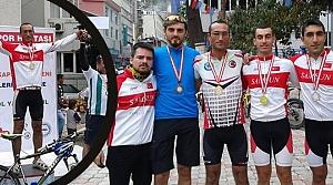 """Karaca; Artvin """"1. Bisiklet Yol"""" Yarışı Şampiyonu"""