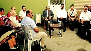Kaymakam Arslan'da Şehit Uzman Onbaşı'nın Evine Ziyaret