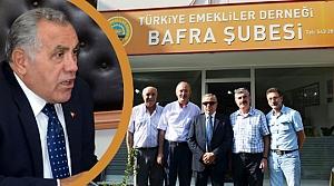Kaymakam Arslan'dan Emekliler Derneği'ne Ziyaret