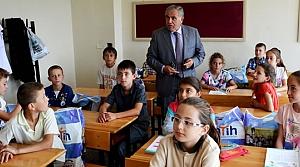Kaymakam Halis Arslan'dan Okullara Ziyareti