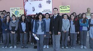 Kedi Vahşetine Bafralı Öğrencilerden Tepki