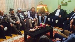 Kırcalı'dan Acılı Aileye Taziye Ziyareti