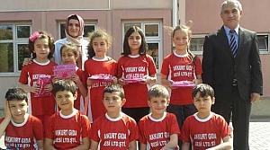 Kızılırmak İlk-Ortaokulu 3. Sınıflar Bafra Birincisi