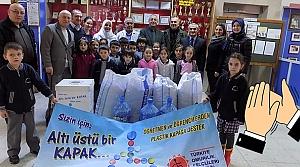 Kızılırmak İlkokulu'ndan 50 Bin Mavi Kapak