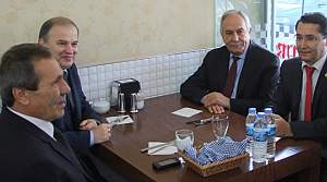 MHP'li Murat  Başesgioğlu Bafra'da