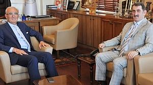 Milletvekili Köktaş, Başkan Yılmaz'ı Ziyaret Etti