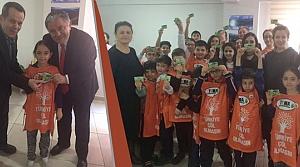 Özel Bafra AK Koleji'nde TEMA Gönüllüleri