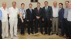 Samsun Valisi Aksoy'dan Samsun ESOB'a İade-i Ziyaret