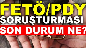 Samsun'da FETÖ/PDY Soruşturması Bilançosu Açıklandı