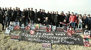 Samsunspor'a Anıt İçin Düğmeye Basıldı
