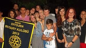 Sinop Diyojen Rotary'de Kısa Dönem Yaz Kampı