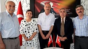 Türkiye Emekliler Derneği'nden Kaymakamlığa Ziyaret