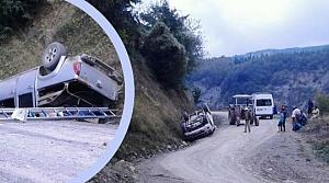 Yakakent Sarıgöl Mevkiinde Trafik Kazası