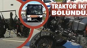Yakakent'te Trafik Kazası; 1 Yaralı