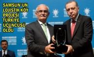 Başkan YILMAZ, Ödülü Cumhurbaşkanı ERDOĞAN'ın Elinden Aldı