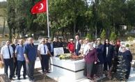 Şehit Cumhuriyet Başsavcısı Murat Uzun Kabri Başında Dualarla Anıldı