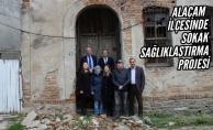 Alaçam'da Sokak Sağlıklaştırma Projesi İçin İlk Adım Atıldı