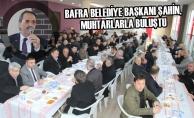 Bafra Belediye Başkanı Şahin, Muhtarlarla Buluştu
