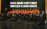 Bafra Musiki Cemiyeti TSM Korosundan Muhteşem Atakum Konseri