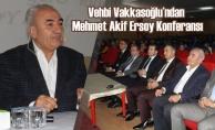 """Bafra'da """"Mehmet Akif Ersoy"""" Konulu Konferans İlgi Gördü"""
