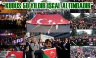 """Başkan Şahin: """"Kudüs 50 Yıldır İşgal Altındadır"""""""