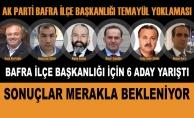 AK Parti Bafra İlçe Başkanlığı Temayül Yoklaması