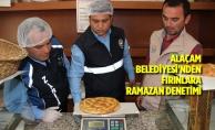 Alaçam Belediyesi'nden Fırınlara Ramazan Denetimi