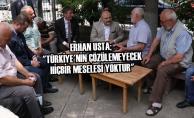 """Usta; """"Türkiye'nin Çözülemeyecek Hiçbir Meselesi Yoktur"""""""