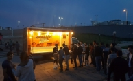 Kastamonu'da 350 öğrenci aynı sofrada iftar yaptı