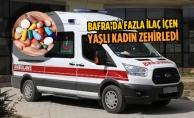 Bafra'da Fazla İlaç İçen Yaşlı Kadın Zehirledi