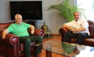 MHK Başkanı Namoğlu'ndan Trabzonspor'a ziyaret
