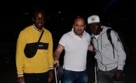 Toure ve Ayuk Trabzonspor için Türkiye'ye geldi