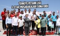 Türkiye Petank Ligi 5. Etap Müsabakaları Sona Erdi