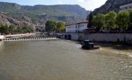 Yeşilırmak Nehri'nde elektrik üretiliyor