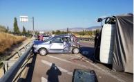 Amasya'da trafik kazası: 5 yaralı