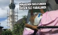 Samsun#039;da Minarenin İskelesinden Düşen İşçi Yaralandı