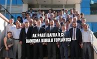 AK Parti Bafra İlçe Danışma Kurulu Toplantısı