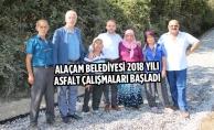 Alaçam Belediyesi 2018 Yılı Asfalt Çalışmaları Başladı