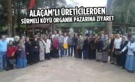 Başkan Uyar'dan Sürmeli Köyü Organik Pazarını Ziyaret