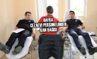 Bafra Cezaevi Personelinden Kan Bağışı