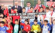 Bafra'da 29 Ekim Cumhuriyet Kupası Turnuvası