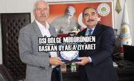 DSİ Bölge Müdüründen Başkan Uyar'a Ziyaret