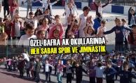 Özel Bafra AK Okullarında Her Sabah Spor ve Jimnastik