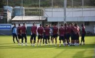 Trabzonspor'da, Büyükşehir Belediyesi Erzurumspor maçı hazırlıkları
