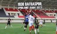 1930 Bafraspor; Sporland'ı Rahat Geçti
