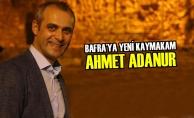 Bafraya Yeni Kaymakam; Ahmet Adanur
