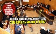 Büyükşehir'den Bafra Belediyesine 2019 İçin 87,5 Milyon TL Bütçe