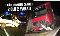 Samsun'da Tır İle Otomobil Çarpıştı: 2 Ölü 2 Yaralı