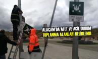 Alaçam'da Afet Ve Acil Durum Toplanma Alanları Belirlendi